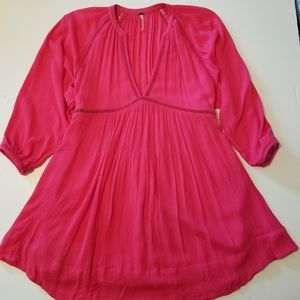 Free People 3/4 sleeve dress size xs/tp